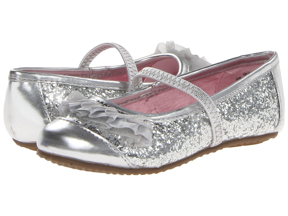 Stride Rite - Quinn (Toddler/Little Kid) (Silver) Girl's Shoes