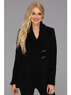 SALE! $86.99 - Save $102 on Vince Camuto Asymmetrical Toggle Knit Coat (Black) Apparel - 53.97% OFF $189.00