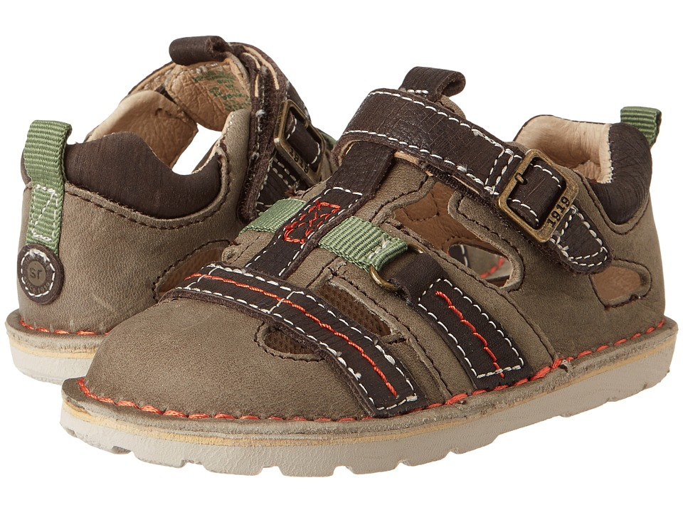 Stride Rite - Medallion Collection Harrison (Toddler) (Tan/Dark Brown/Green) Boy's Shoes