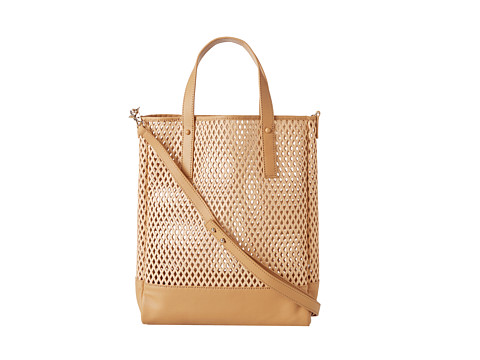 Loeffler Randall - Shopper Tote (Natural Perforated Vachetta/Nappa) Tote Handbags