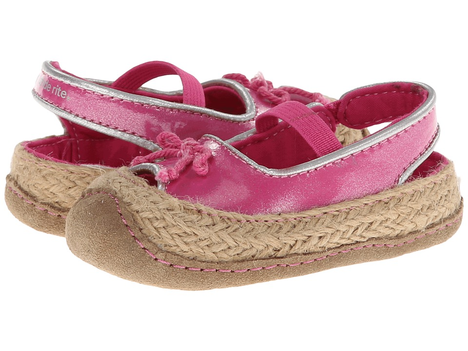 Stride Rite - Crawl Zenny (Infant/Toddler) (Pink) Girl