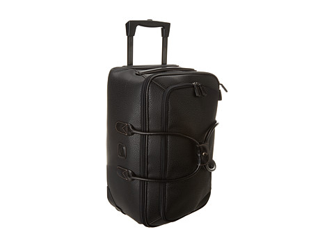 Bric's Milano - Magellano - 21 Carry on Rolling Duffle (Black/Black) Duffel Bags