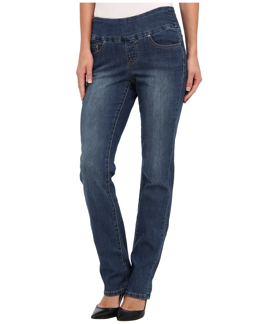 Jag Jeans - Peri Pull-On Straight in Blue Dive (Blue Dive) Women's Jeans