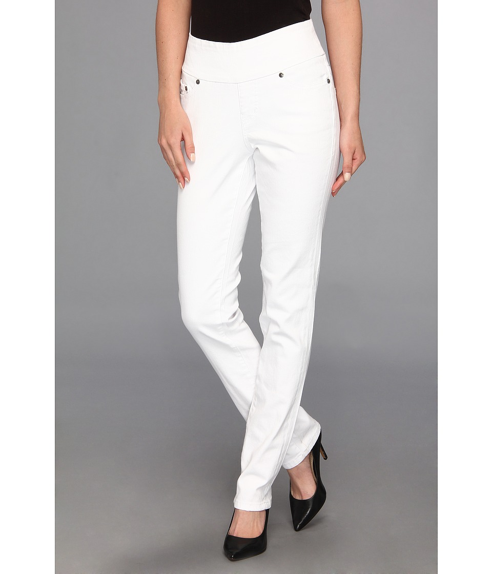 Jag Jeans - Malia Pull-On Slim Colored Denim in White (White) Women