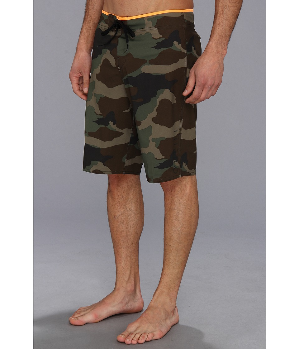 O'Neill - Santa Cruz Stretch Printed Boardshort (Camo) Men's Swimwear