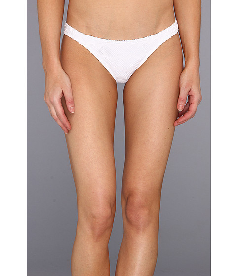 Roxy - Making Waves Itsy Bitsy Bikini Bottom (Sea Salt) Women's Swimwear