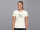 Life is good Good Luck Serif LIG Crusher Tee
