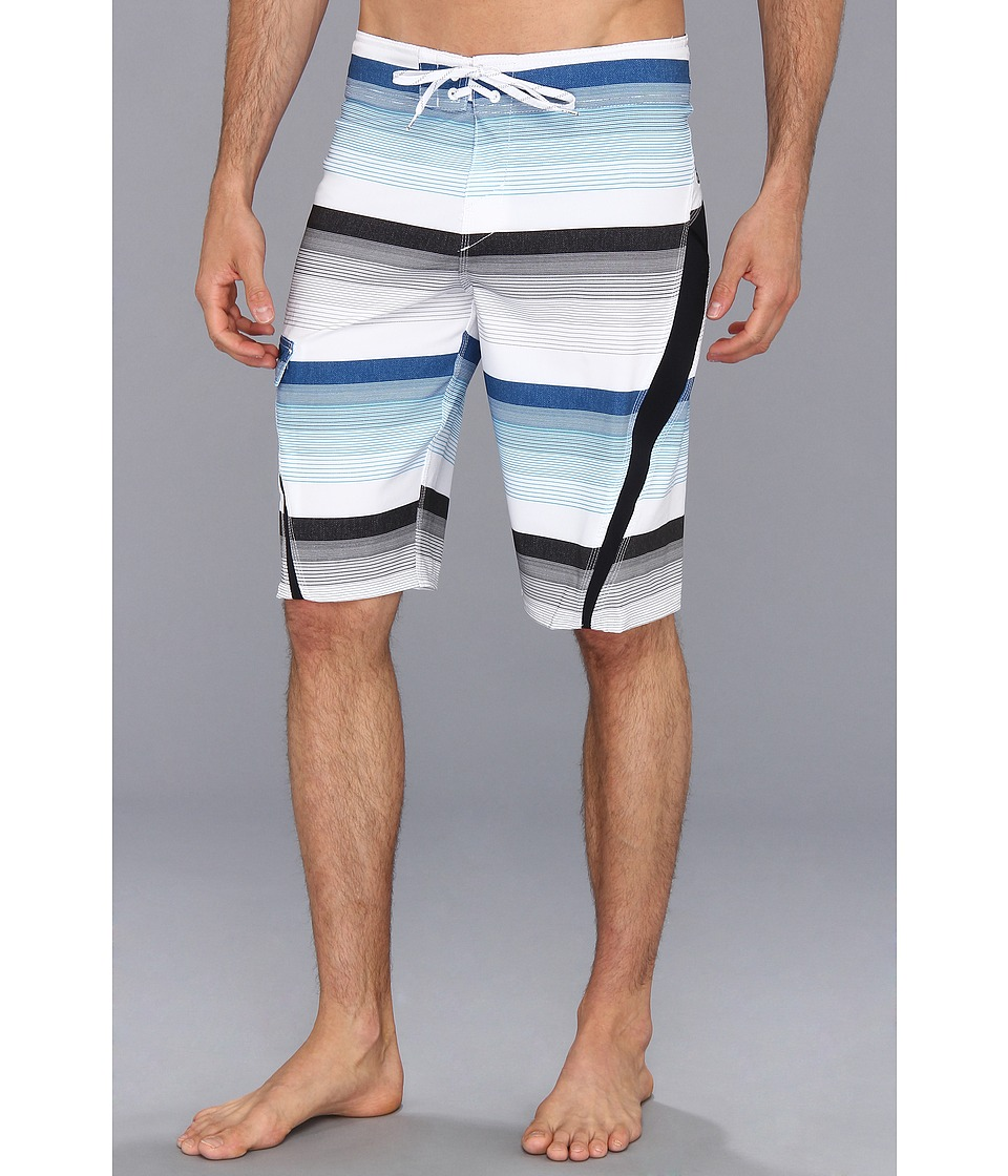 O'Neill - Superfreak Printed Boardshort (White) Men's Swimwear
