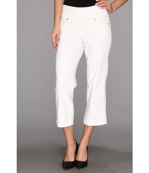 Jag Jeans - Felicia Pull-On Crop Jean in White (White) Women's Jeans