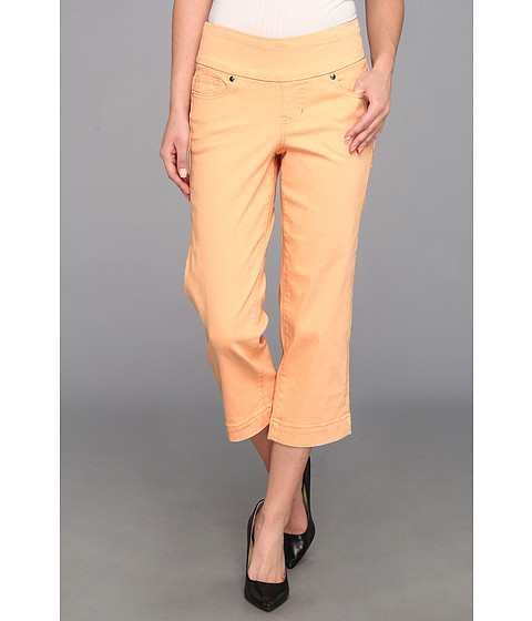 Jag Jeans Felicia Pull-On Crop Jean in Pale Peach (Pale Peach) Women's Jeans
