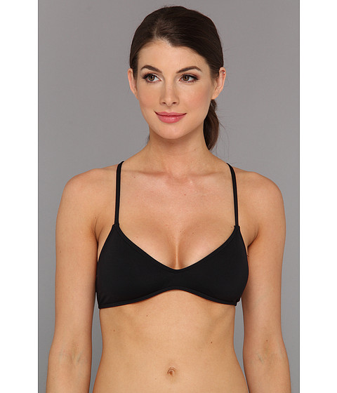 Carve Designs - Tamarindo Bikini Top (Black) Women's Swimwear