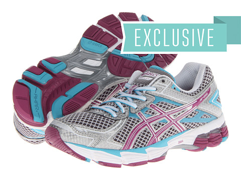 ASICS - GT-1000 2 (Lightning/Purple/Turquoise) Women's Running Shoes