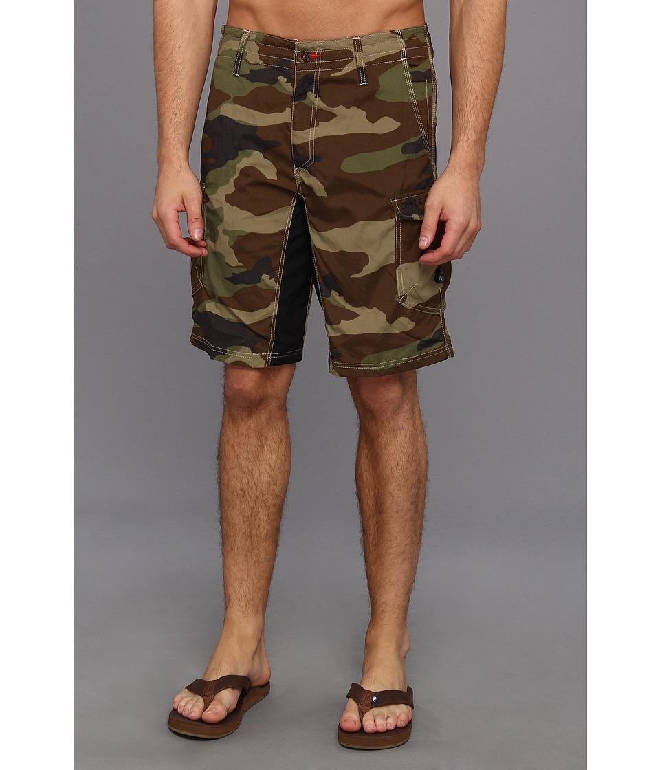 O'Neill - Traveler Hybrid Short (Camo) Men's Shorts