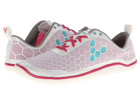 Vivobarefoot - Evo Pure (White/Pink) Women's Running Shoes