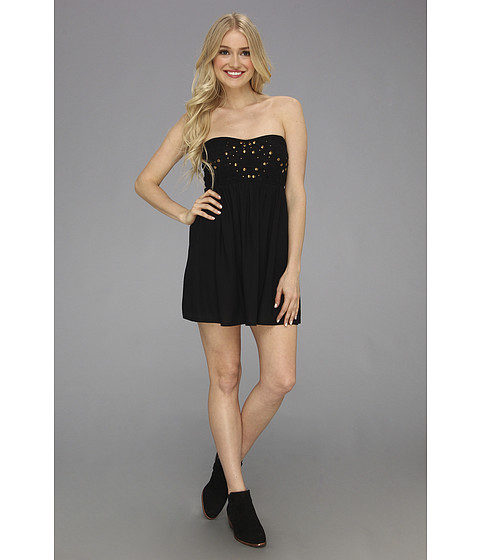 Roxy - Party On Tube Dress (True Black) Women