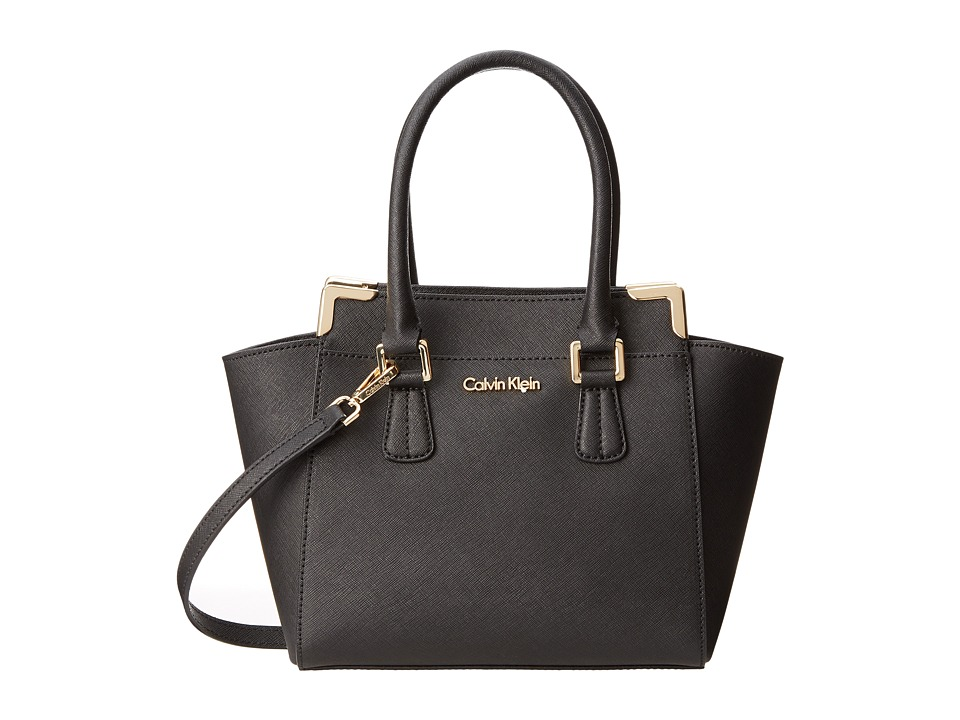 Calvin Klein - On My Corner H3JE12AC (Black) Satchel Handbags