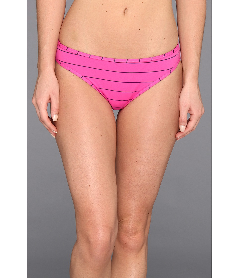 Carve Designs - Janie Reversible Bikini Bottom (Raspberry Beach/Indigo) Women's Swimwear