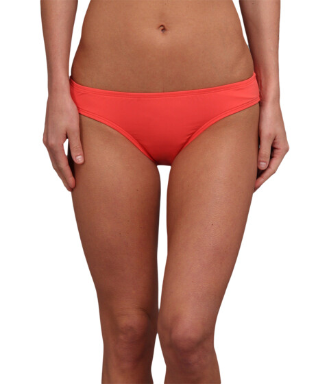 Carve Designs - St. Barth Bikini Bottom (Hot Coral) Women