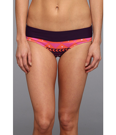 Carve Designs - Catalina Bikini Bottom (Tulum with Blackberry) Women's Swimwear