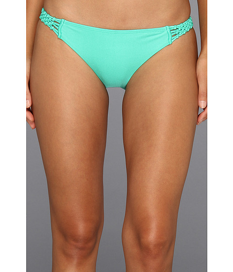 Roxy - Evening Twilight Surfer Bottom (Iced Green) Women's Swimwear