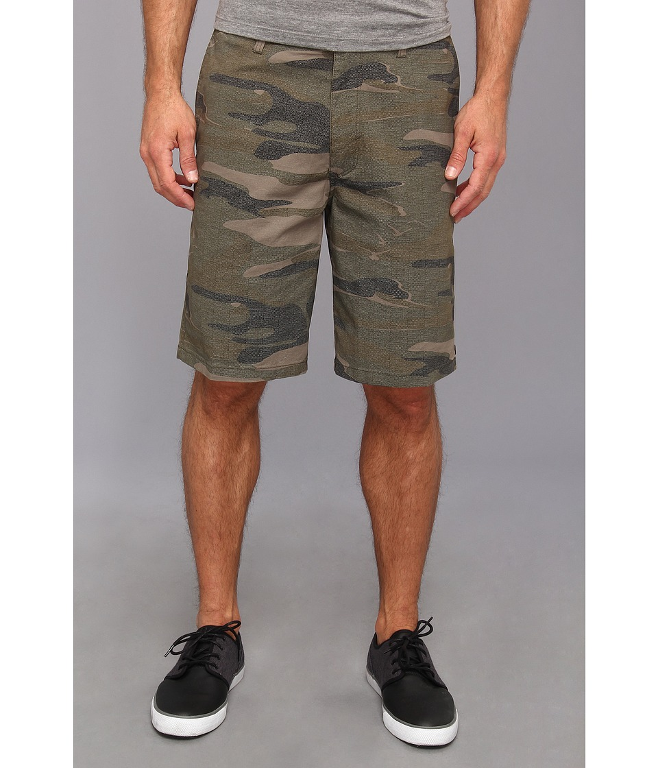 O'Neill - Brookside Printed Walkshort (Camo) Men's Shorts