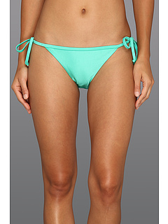 SALE! $16.99 - Save $19 on Roxy Evening Twilight 70s Binded Lowrider Bottom (Iced Green) Apparel - 52.81% OFF $36.00