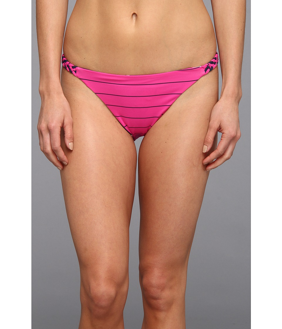 Carve Designs - Andi Reversible Bikini Bottom (Dandelion/Raspberry) Women's Swimwear