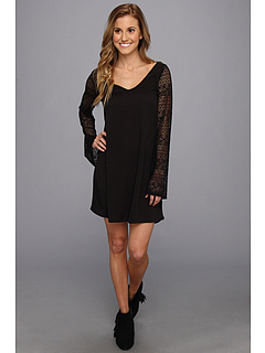 SALE! $21.99 - Save $28 on Roxy Lace Bell Dress Cover Up (True Black) Apparel - 56.02% OFF $50.00