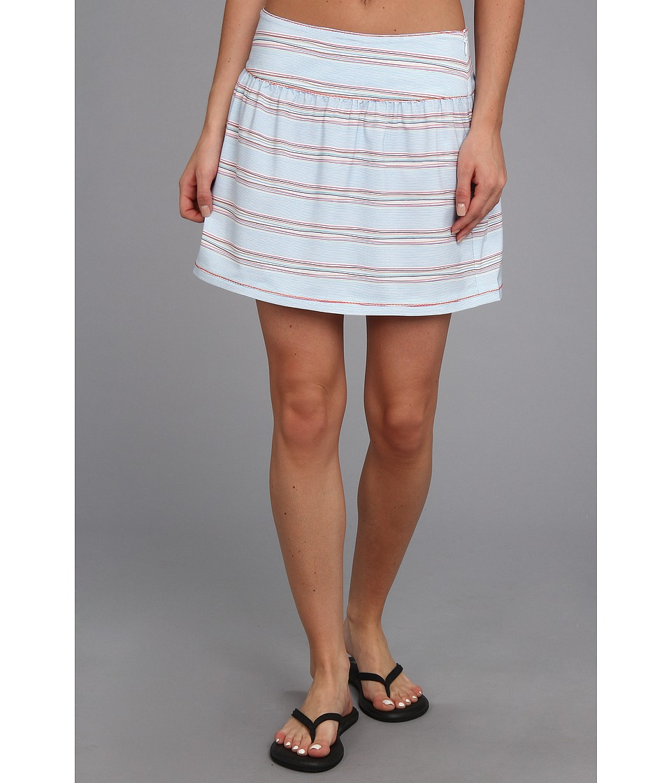 Carve Designs - Seawall Skirt (Wave Stripe) Women's Skirt