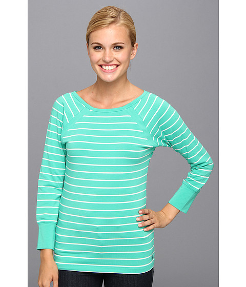 Carve Designs - Paris Tee (Mint Nautical) Women
