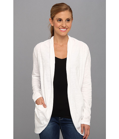 Carve Designs - Anderson Cardigan (White) Women's Sweater