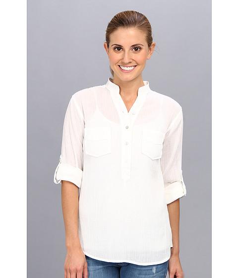 Carve Designs - Dylan Gauze Shirt (White) Women