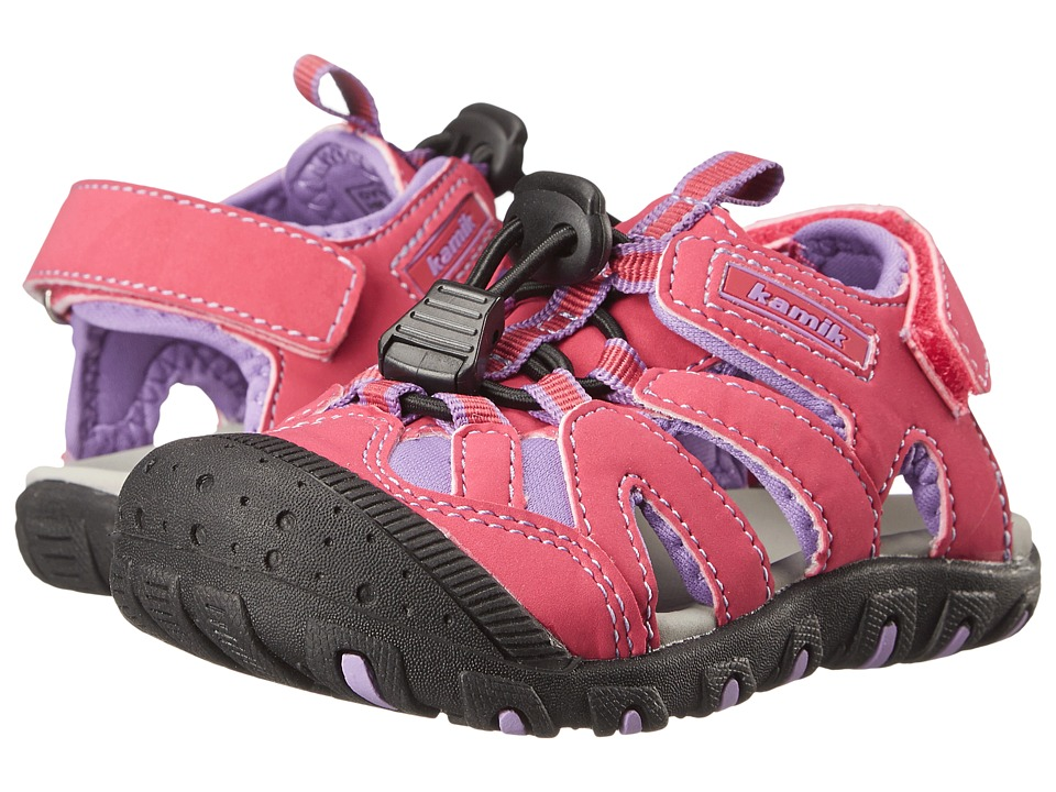 Kamik Kids - Oyster (Toddler) (Fuscia) Girl's Shoes