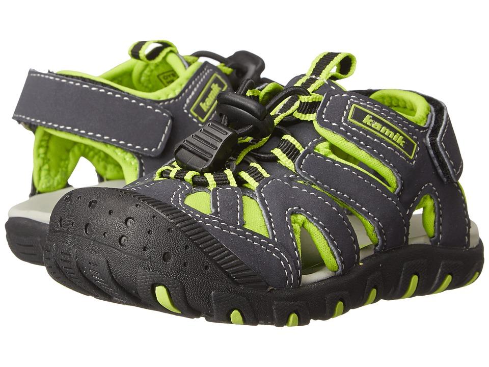 Kamik Kids - Oyster (Toddler) (Green) Boy's Shoes