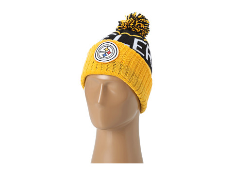Mitchell & Ness - Pittsburgh Steelers High 5 Beanie (Pittsburgh Steelers) Baseball Caps