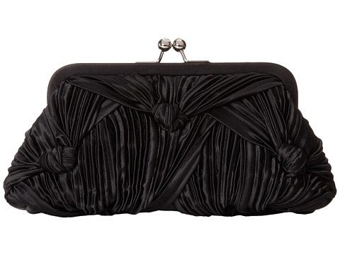 Franchi Handbags - Courtney Frame (Black) Handbags