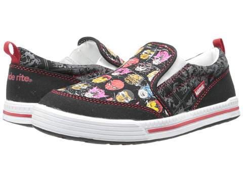 Stride Rite - Marvel Comics Slip-On (Toddler/Little Kid) (Black) Boys Shoes