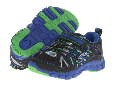 Stride Rite - Propel A/C (Toddler/Little Kid) (Black/Royal/Green) Boys Shoes