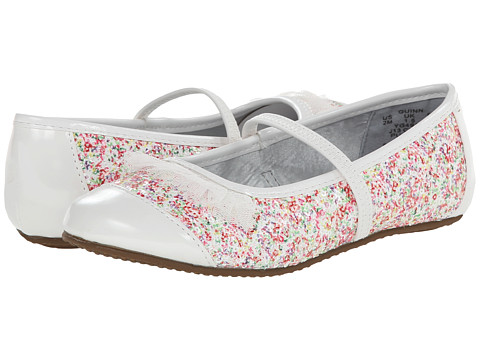 Stride Rite - Quinn (Toddler/Little Kid) (White/Multi) Girl