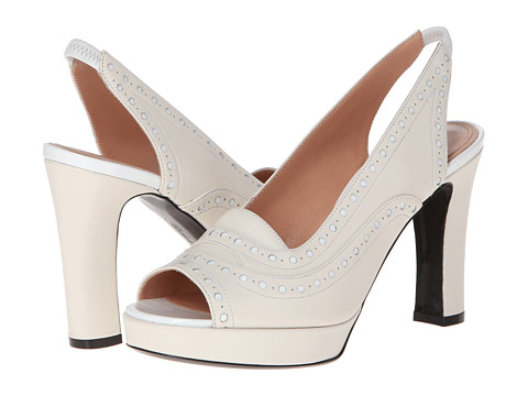 Robert Clergerie - Poe (#109 White Patent) High Heels