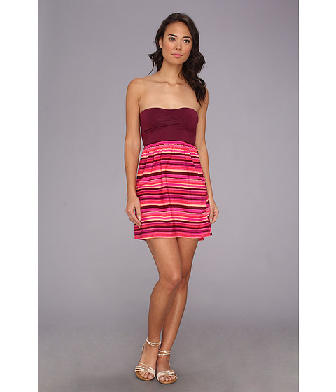 Roxy - Savage 2 Dress (Tropical Pink Stripe) Women