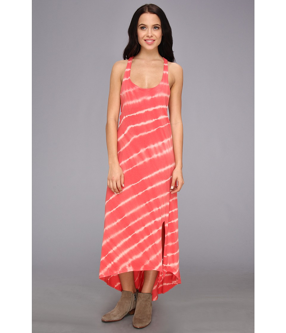 Roxy - Setting Sun Dress (Sugar Coral Stripe) Women's Dress