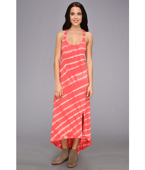 Roxy - Setting Sun Dress (Sugar Coral Stripe) Women