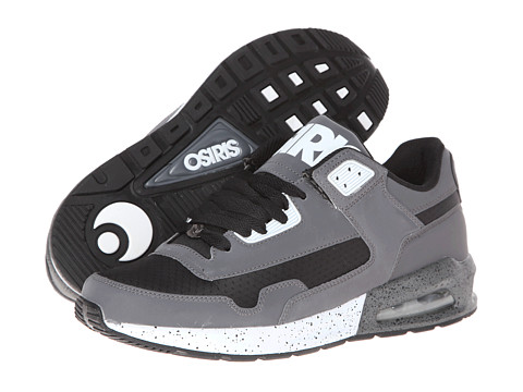 Osiris - Uprise (Charcoal/Black/Spackle) Men's Skate Shoes