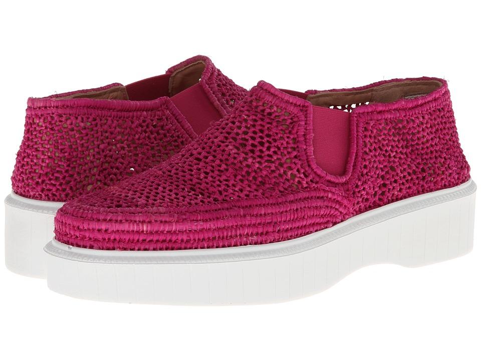 Robert Clergerie - Pelizo (#891 FUSH RAFIA) Women's Slip on Shoes