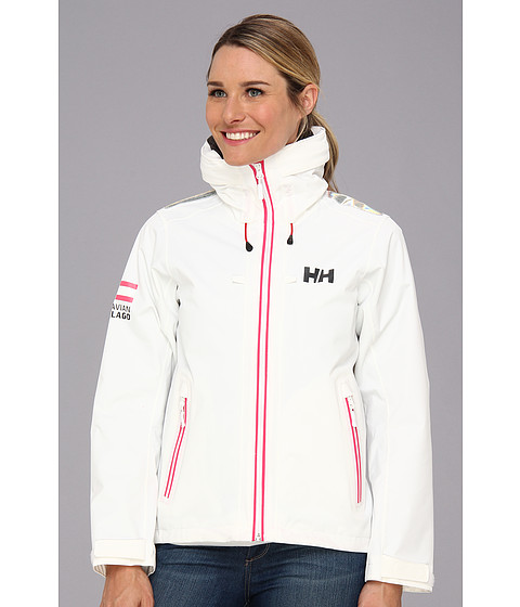Helly Hansen - April Jacket (White) Girl's Coat