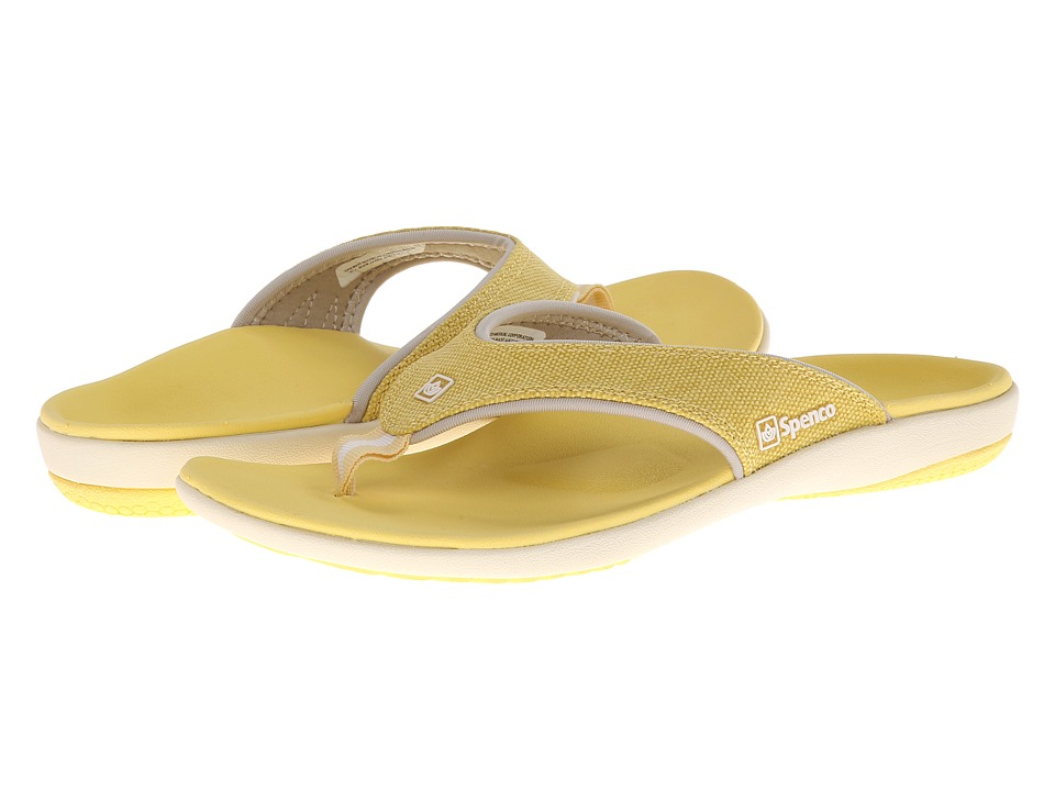 Spenco - Yumi Canvas (Sunshine) Women