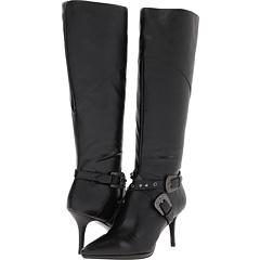 CARLOS by Carlos Santana Crusoe (Black Leather) Footwear