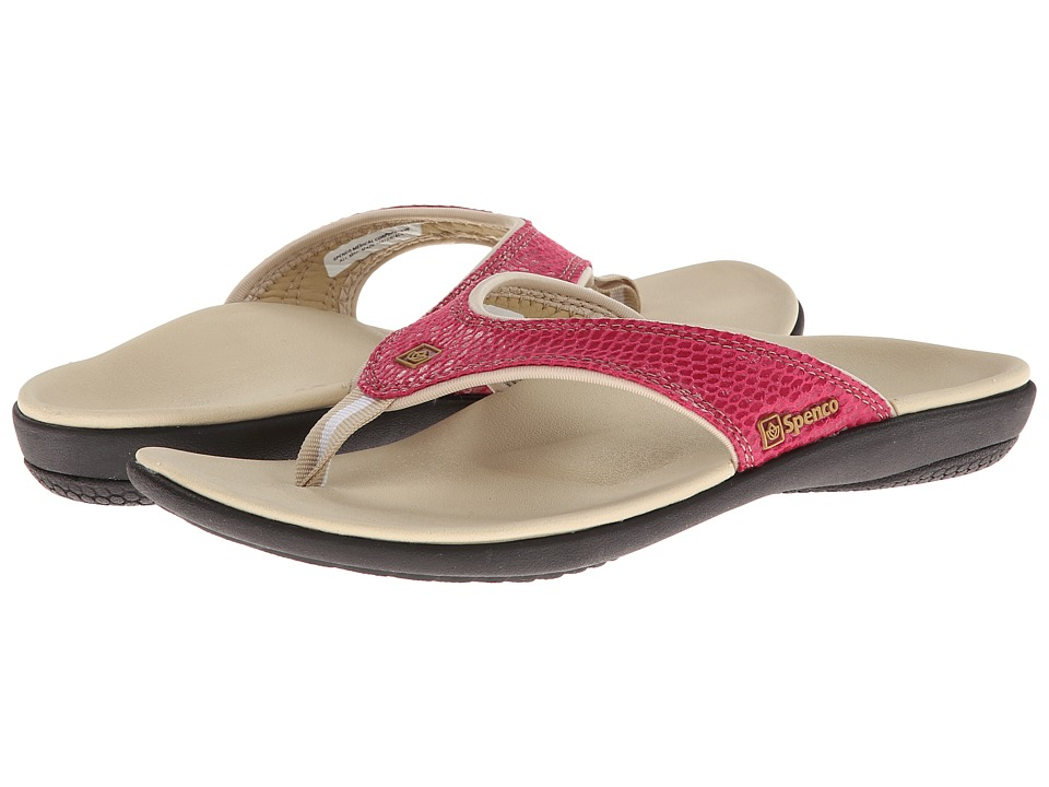 Spenco - Yumi Snake (Rose Snake Emboss) Women