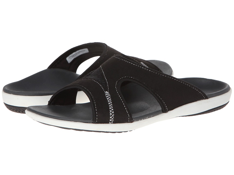 Spenco - Tori Slide (Charcoal) Women's Slide Shoes